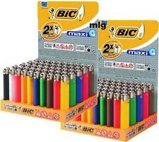 100 BIC Maxi Feuerzeuge J26 2 x 50 !!! mit Kindersicherung Original-Display 450