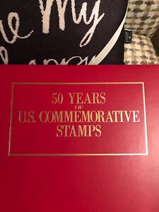 Postal Commemorative Society 50 Years of US Commemorative Stamps 1950 - 1985