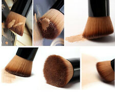 Angled Flat Top Brush Face Powder Foundation Contour Blush Cosmetic Makeup Brush