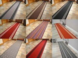 Very Long Wide Thin Hall Hallway Carpet Runner Rugs For Stairs Halls Corridors