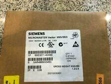 Siemens Micromaster Vector MMV55/3 6SE3211-4DA40 Umrichter 6SE32114DA40