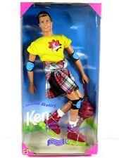 * Nib Barbie Doll 1995 In Line Skating Ken 15474
