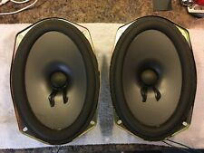 "GM Pioneer 6x9"" Subwoofer Speakers 4 Ohm Sub Woofer"