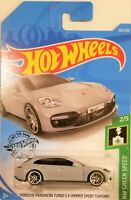 Hot Wheels - 2019 HW Green Speed 2/5 Porsche Panamera Turbo S 202/250 (BBFYB51)