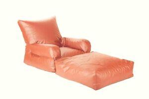 Bean bag Lounger Bean Bag Sofa Chair without Bean for luxuries Decor gift