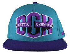 DGK Starter Dirty Ghetto Kids Champs Teal/Purple Snapback Baseball Hat DH-137 NW