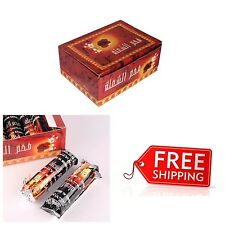100 Pcs Hookah Charcoal Quick Lite Shisha Coal Incense 10 Rolls