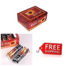 100 Pcs Hookah Charcoal Quick Lite Shisha Coal Incense 10 Rolls