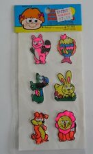Vtg Imperial Toy Corp 1978 Stickers Puffy Googly 3 Mint Condition Sealed Pack