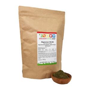 Magnesium 100.000 - hochdosiert - ohne Getreide und Zucker (1 kg)