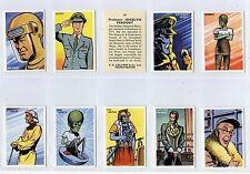 Full Set, Calvert, Dan Dare Series EX 1954 (Gy082-456) Scarce as a complete set