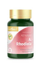 GinSen® A.Rhodiola 30 Capsules To Boost Blood Oxygen Fight Fatigue Strong Cure