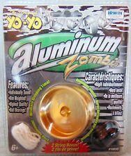 Yo-Yo - Irwin Aluminum Zombie - (Gold) - 2 String Bonus -  yoyo - New