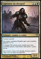 4 * Capitaine du Diregraf - 4 * Diregraf Captain - Zombie  - Magic mtg -