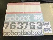 Bobcat 763 decals
