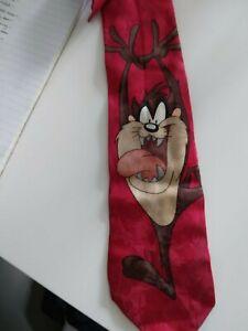 Men's Looney Tunes Taz Silk Tie