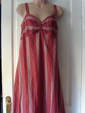 RED AND WHITE DRESS BY DOROTHY PERKINS, SIZE 12