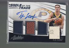 2017-18 Absoloute Tools Of The Trade Triple Jersey Ball Auto T.J. Leaf RC /199