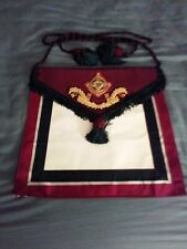 Royal Order of Scotland Apron - Craft Royal Arch Masonic Regalia