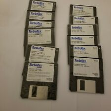 Turbo Tax For Windows 1996 3.5 Floppy Disks