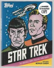 Star Trek TOS Topps Trading Card SDCC Collectors Autograph Book 33 of 120
