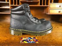 Dr Martens Mens Industrial Steel Toe Slip Resistant Black Boot ASTM F2413-11 SZS