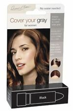 Cover Your Gra for Women Touch Up Stick, Black, 0.15 oz (Pack of 3)