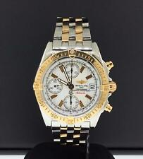 Breitling Chrono Cockpit 39mm Two Tone Steel & 18k Rose Gold Ref. C13358 Date