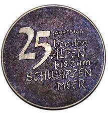 A411) Sowjetunion Medaille UdSSR PERSONENLINIE VONDEN ALPEN SCHWARZEN MEER WIEN