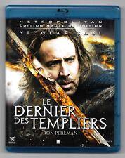 BLU-RAY DISC / LE DERNIER DES TEMPLIERS - NICOLAS CAGE / COMME NEUF
