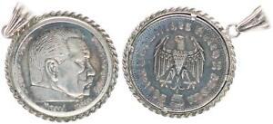 Patriotic Coin Pendant 1935 With 5 M Hindenburg 1935 46340