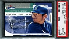 2001 Fleer Game Time Ichiro Suzuki PSA 10 #91 649/2000 RC Rookie