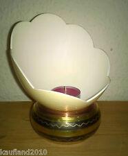 Ei Straußenei Windlicht Nr. 51 Schale Kerzenständer Teelichthalter Übertopf