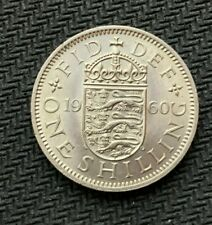 1960 Great Britain 1 Shilling Coin BU UNC    High Grade World Coin       #C768