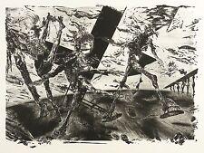 Rolf Münzner-per J. Callot e A.P. Weber-schablithografie 1987