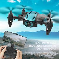 CS02 Mini WiFi FPV 4K HD Camera Altitude Hold Mode Foldable RC Drone Quadcopter