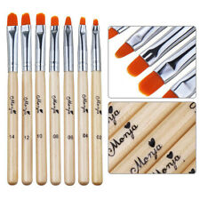 Brush Nail Art French Painting Pen Acrylic Uv Gel Tips Nail Extension Builder