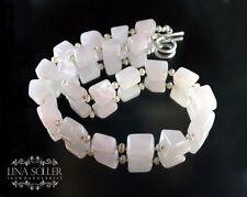 Halsketten und Anhänger mit Glücks echten Edelsteinen aus Sterlingsilber