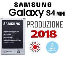 BATTERIA ORIGINALE PER SAMSUNG Galaxy S4 MINI i9195 | EB-B500BE 1900 mAh NUOVA
