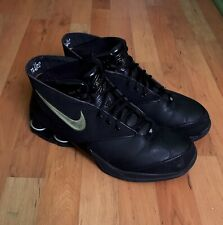 2005 Nike Air Shox MTX Flight Vince Carter Black Metallic Silver Size 12 PE Kobe