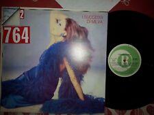 DISCO LP 33 GIRI I SUCESSI DI MILVA