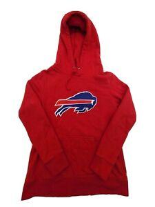 NFL Pro Line Size Small Red Buffalo Bills Hoodie Sweatshirt