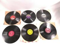 Lot of Six 78 Records Featuring Frank Messina The Sundowners Band and others