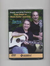 EASY STEPS TO BLUES GUITAR JAMMING *NEW* 2 DVD SET