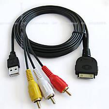 IPOD A/V CABLE FOR JVC KD-AVX40 KD-AVX44 ref ks-u30