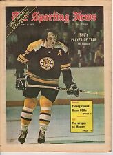 The Sporting News, 4/21/1973, Hockey, magazine, Phil Esposito, Boston Bruins