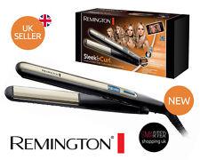 Remington S6500 Sleek and Curl Hair Ceramic Straightener with digital LCD Slim