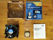 Intel Core i5-4670K 3.4GHz Quad-Core Processor, stock cooler, NEVER OVERCLOCKED