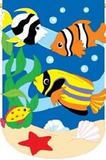 Tropical Fish Brilliance House Flag TG 07024