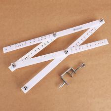 Pantograph Pantograf Storchenschnabel 34cm vergrößern verkleinern WEISS